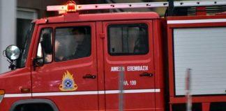 Φωτιά σε κατάστημα στη Λυκόβρυση