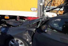 Τροχαίο στο Μαρούσι - Ανετράπη αυτοκίνητο στην λεωφόρο Κηφισίας