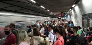 Ασφυξία σε μετρό, λεωφορεία με την Αττική ένα βήμα πριν το lockdown